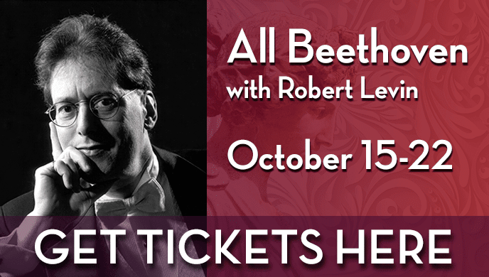 Get Tickets To All Beethoven With Robert Levin
